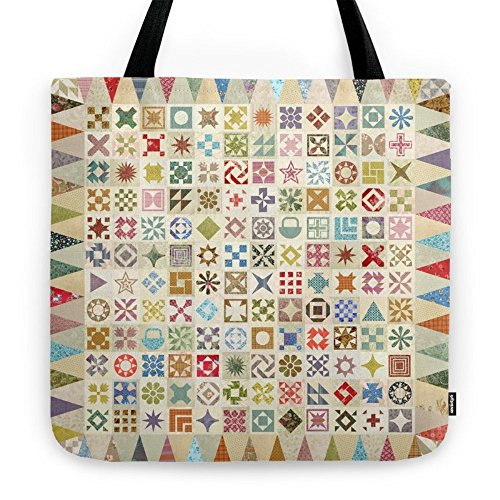 Society6 Jane's Addiction To Quilting Tote Bag 18