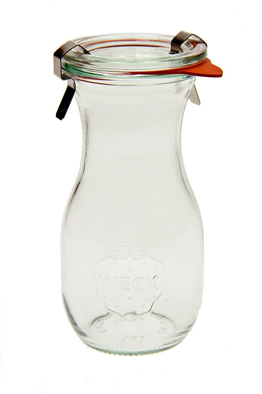 Weck 763 Juice Jar - .25 Liter, Set of 6 SYNCHKG069234