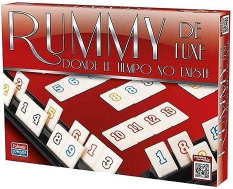 Falomir Deluxe Rummy de Luxe Mesa. Juego Clásico. (646396): Amazon.es: Juguetes y juegos