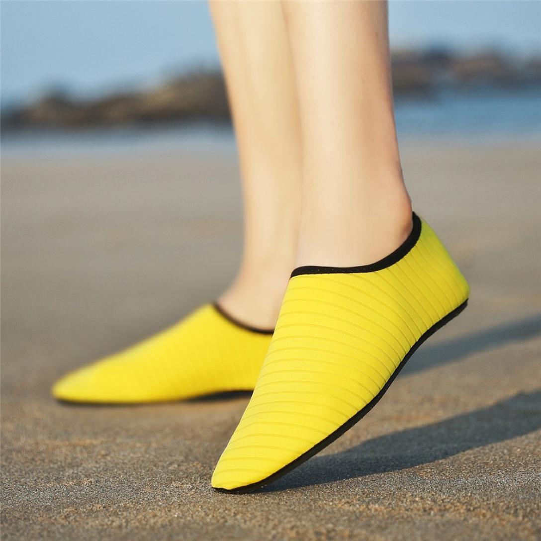 OHQ Zapatos Casuales Verano Mujeres Bastante Planos Sandalias Moda Parejas Calcetines Buceo Natación Playa Zapatos Snorkel Natación Zapatos Yoga: Amazon.es: ...
