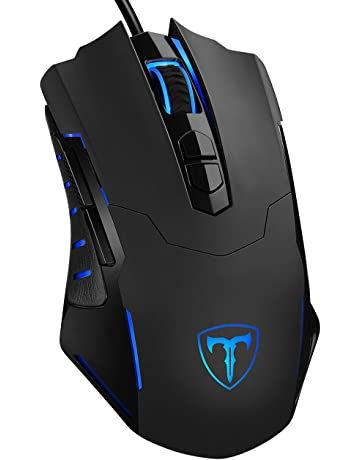 f3e3000b75f PICTEK Gaming Mouse Wired [7200 DPI] [Programmable] [Breathing Light]  Ergonomic