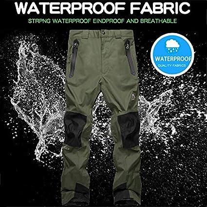 Ocamo Unisex Skiing Pants Warm Windproof Waterproof Snow Snowboarding Pants Outdoor Snow Hiking Pants
