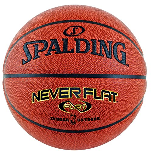 "Spalding Never Flat Basketball - Official Size 7 (29.5"")"