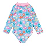 Wishere Baby Girl Sunsuit One-Piece Swimsuit Rash