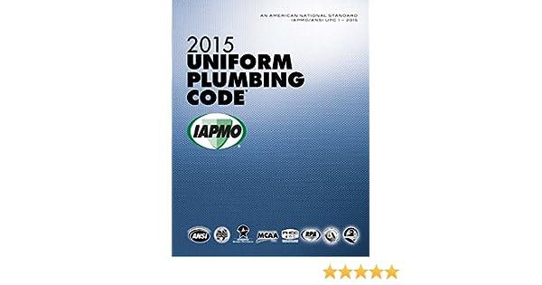 2015 uniform plumbing code iapmo 0650298658775 amazon books fandeluxe Gallery