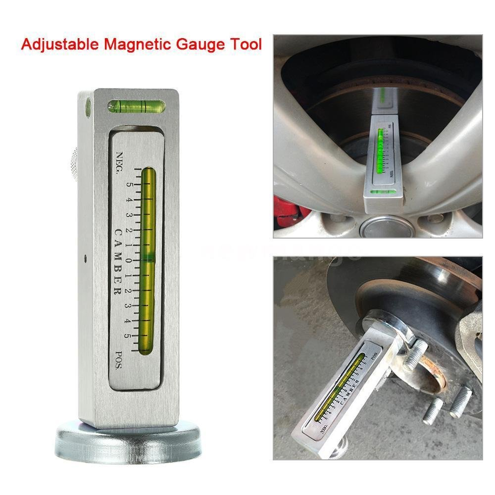 FidgetFidget Auto Car Adjustable Magnetic Gauge Tool Camber Castor Strut Wheel Alignment G3N1 by FidgetFidget (Image #3)