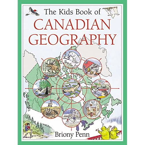 The Kids Book of Canadian Geography