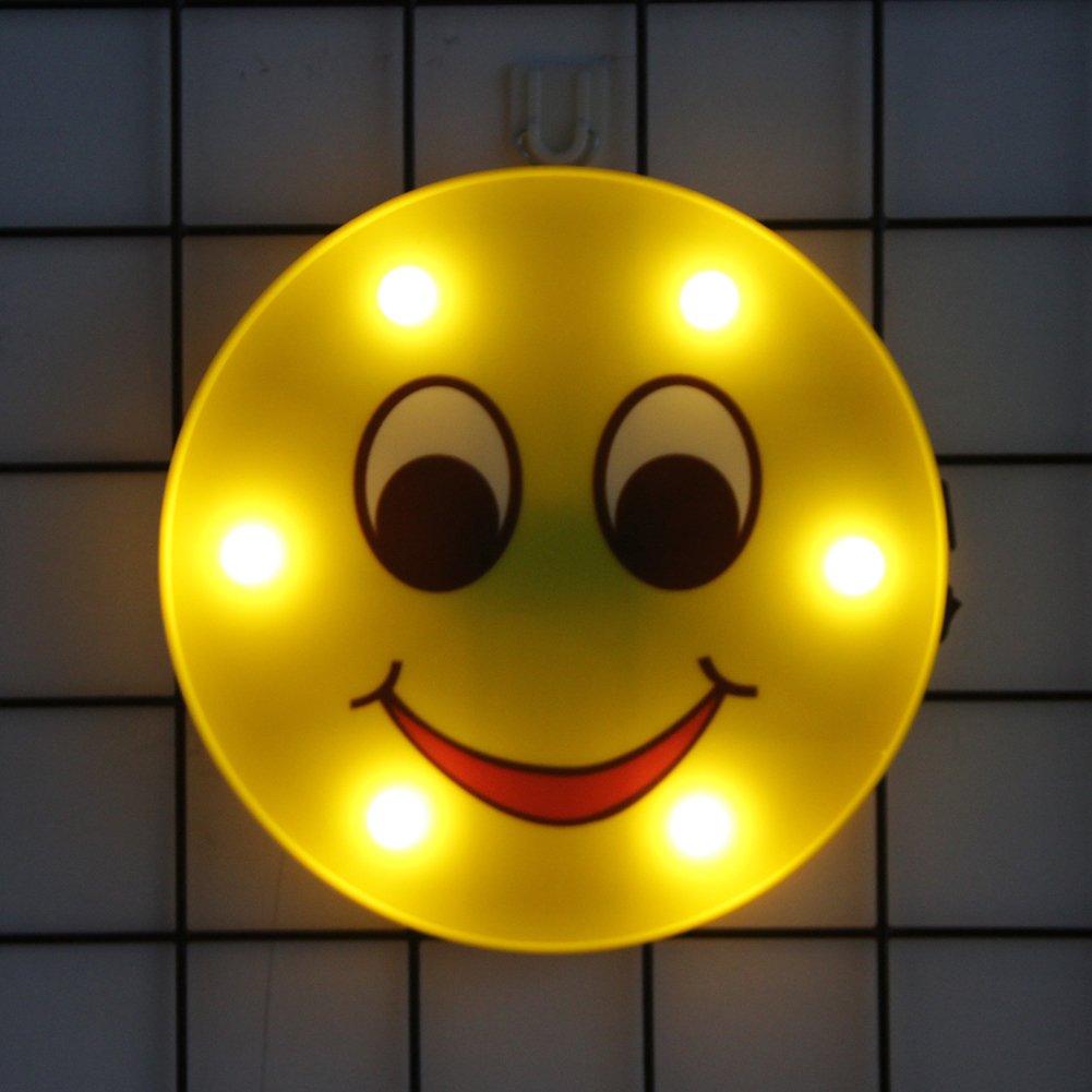 絵文字Night USB充電 LightsマーキーSign面白い子供キッズベッドルーム壁ランプホームインテリア電池式LEDテーブルランプの& Smile Smile USB充電 Smile Smile B07CWTLF1X, 青砥屋 ほつま高蒔絵シール専門店:501ab8ad --- ijpba.info