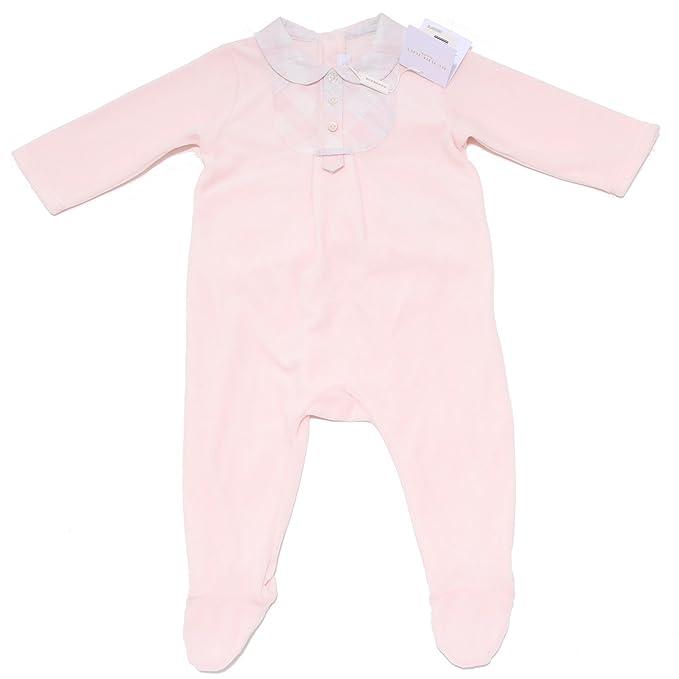 6299F tutina bimba BURBERRY rosa tutine rompers kid [9 MONTHS]
