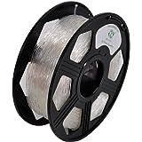YOYI 3D Flexible TPU 0.8KG 1.75mm Transparent Flexible TPU 3D Printer Filament, Diameter Tolerance +/- 0.03 mm, 0.8 KG Spool, 1.75 mm, Transparent