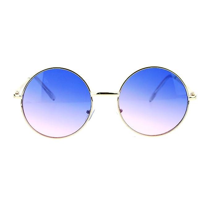 Amazon.com: Gafas de sol de 2 tonos, estilo retro vintage ...