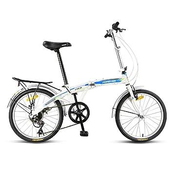 Portable Bicicleta Plegable,20 Pulgadas Rueda,Ligera First ...