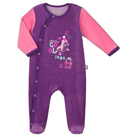 920006dbf1aac Pyjama bébé velours Pretty Ice - Taille - 1 mois (56 cm): Amazon.fr ...