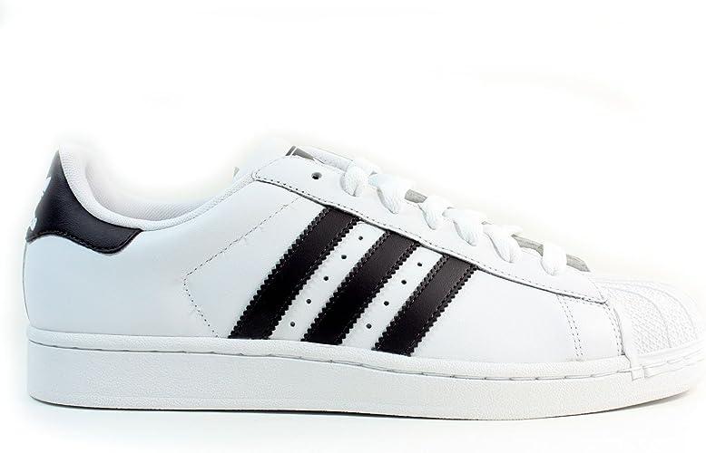 Adidas Superstar II BlancMarron Homme, multicolore (blanc