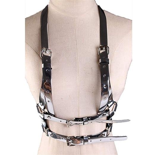 BAIJJ Arnés para el Cuerpo elástico para Mujer Cinturón de arnés ...