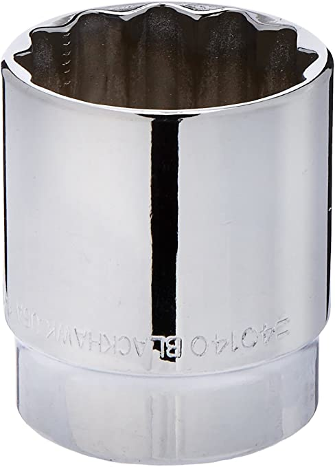 1//2-Inch Blackhawk By Proto 40140 12-Point Drive Socket