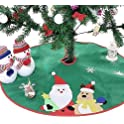 "Ohuhu 36"" Christmas Tree Skirt"