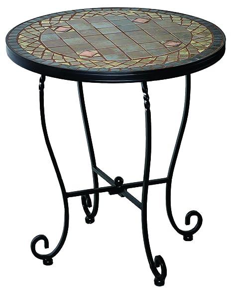 Alfresco Home 28 1132 Dublin Mosaic Outdoor Side Table