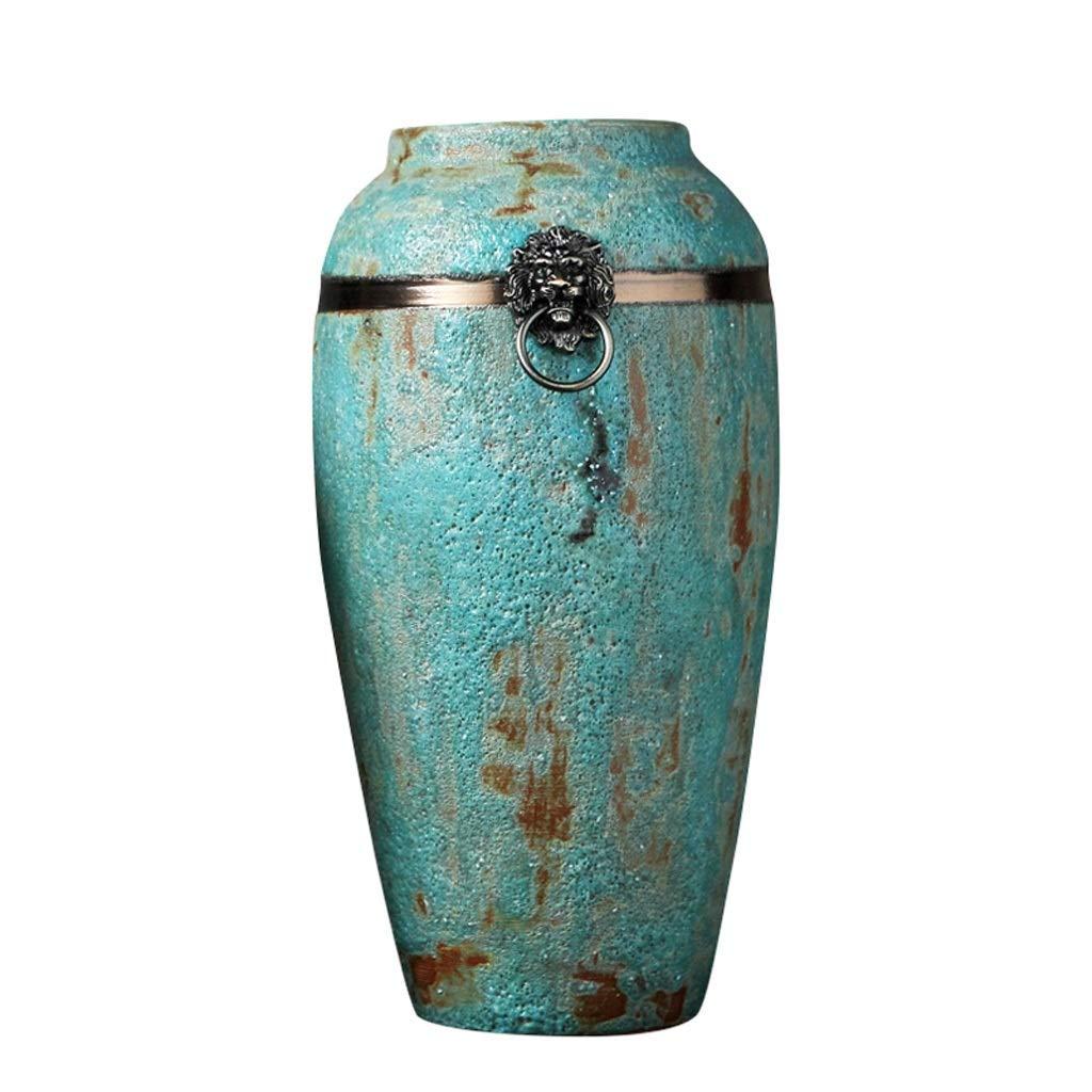 ビンテージ花瓶 花瓶レトロセラミック花瓶リビングルームダイニングルームテレビキャビネットインサート花瓶ホームワインキャビネット装飾花瓶 Xuan - worth having (色 : C) B07RRNRQXQ C