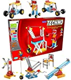 SARTHAM Construction Toys, Mechanical Kit For Kids - Senior Techno (Age 6+)