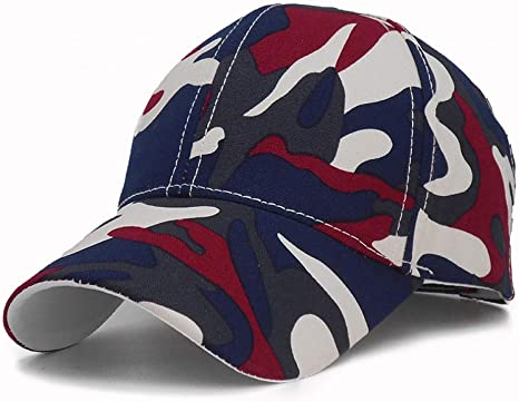 YUANBAOG Marca de Moda Gorra de béisbol de Camuflaje Costura ...