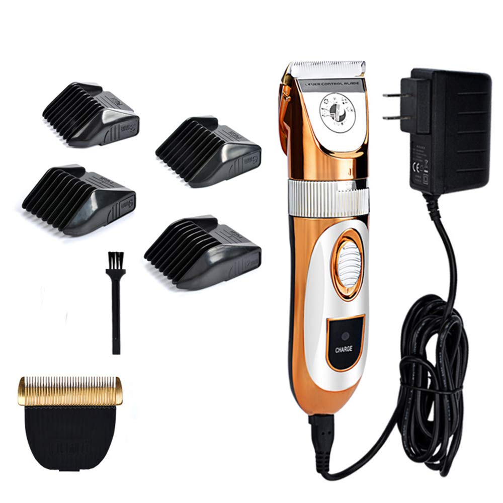 Kuaker Dog Clippers, Dog Clippers Professional for Thick Hair,Plug-in 60W High Power,Low Noise for Dogs and Cats