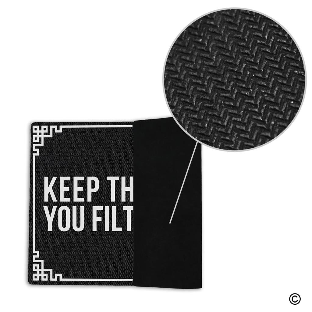 Amazon.com : MsMr Entrance Floor Mat Funny Doormat Keep The Change ...