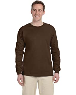 9d85d3e6de99c Fruit of the Loom Heavy Cotton HD 100% Cotton Long Sleeve T-Shirt ...