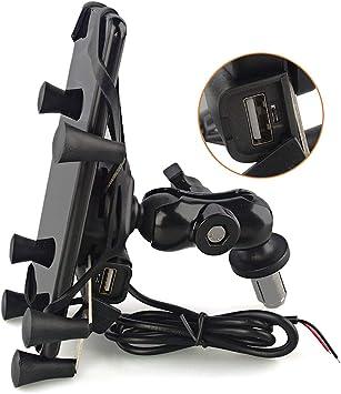 Evomosa Motorrad Handyhalterung Für 3 5 6 5 Elektronik