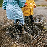 LONECONE Rain Boots with Easy-On Handles for