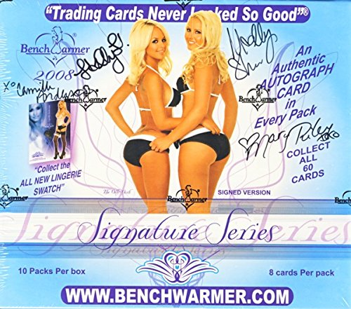 (2008 Benchwarmer Signature Series Hobby Autographed Edition Box - 9 Autos)