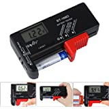 Tester di batterie,Tester per Volt batteria per batterie AA, AAA, C, D, 9 V 1,5 V BT-168D batterie Pila a bottone.