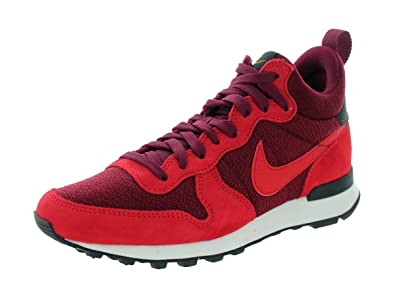 good out x lace up in best supplier Nike Damen WMNS Internationalist Mid High-Top, Rot/Bordeaux ...