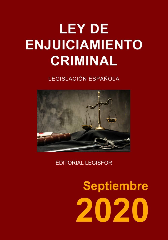 Ley de Enjuiciamiento Criminal: Amazon.es: Legislación española: Libros