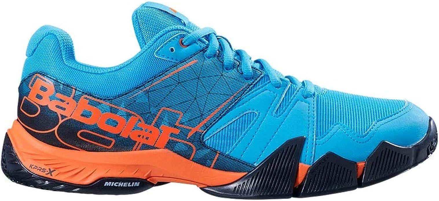 Babolat PULSA Azul Naranja 30S19689 298: Amazon.es: Zapatos y ...