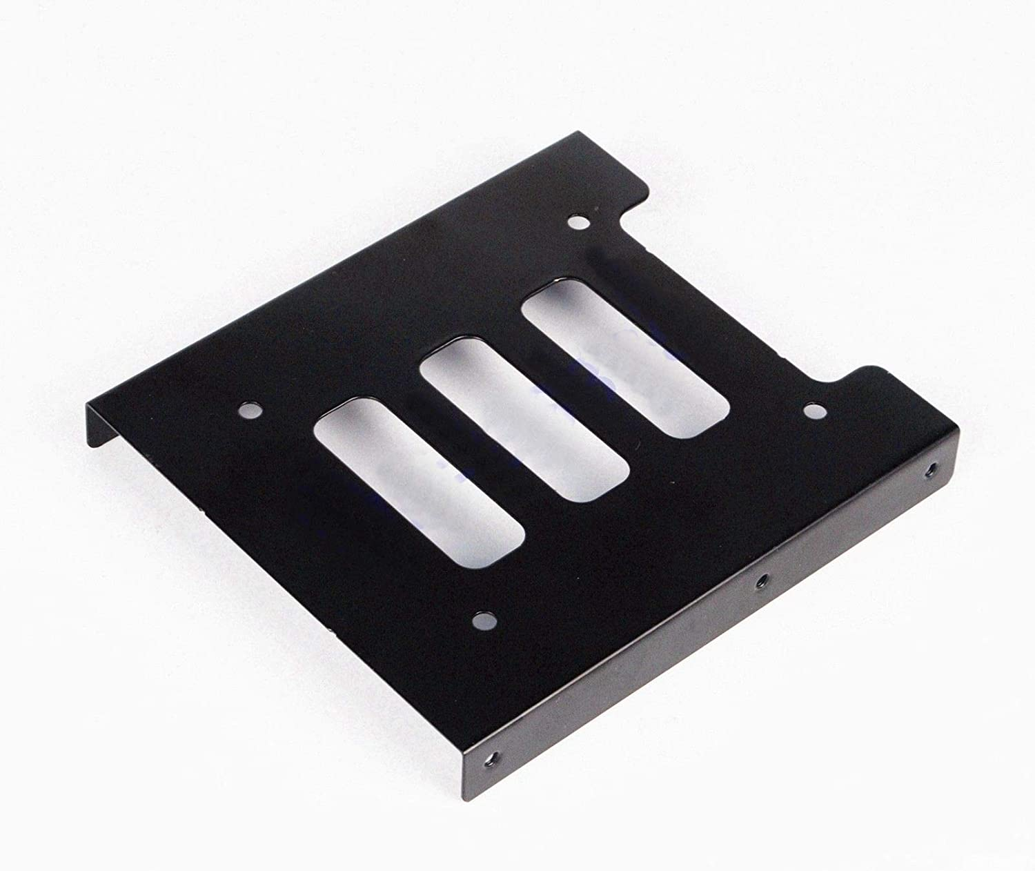"Adapter 2.5/"" to 3.5/"" hard drive plastic bracket hdd holder mounting ssd black GX"