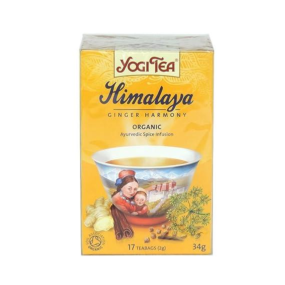 Yogi Tea - Himalaya Ginger Harmony - 34g (Case of 6): Amazon ...