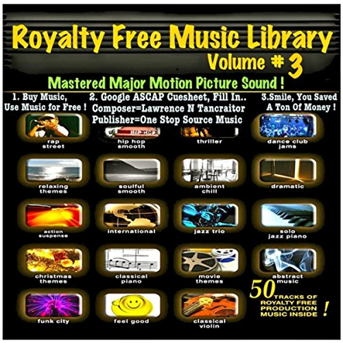 Amazon.com: Royalty Free Music Library V3 (50 Songs): Royalty Free Music: MP3 Downloads