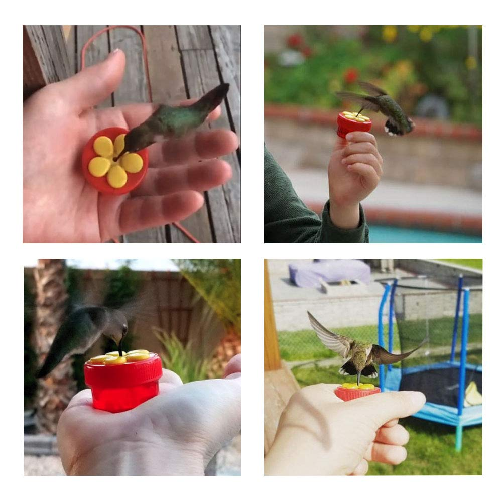 Handheld Hummingbird Feeders make fun camping activities kids love and adults will too to keep from being bored and fun campfire games are just the start of tons of fun camping ideas for kids!