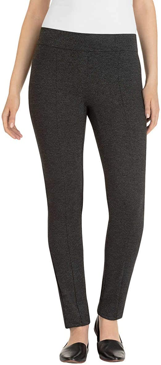 Hilary Radley Ladies/' Ponte Pant Sits At The Waist Size XL Black