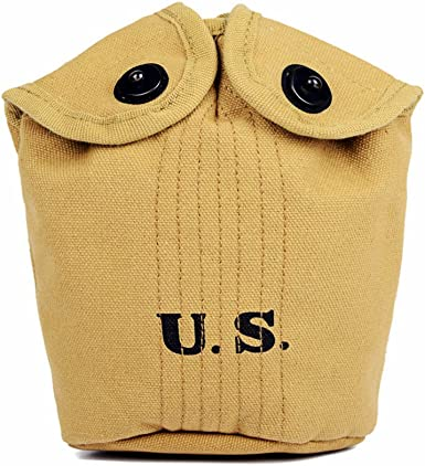 Army Canteen /& M1910 Canteen Cover Oleader WW2 U.S