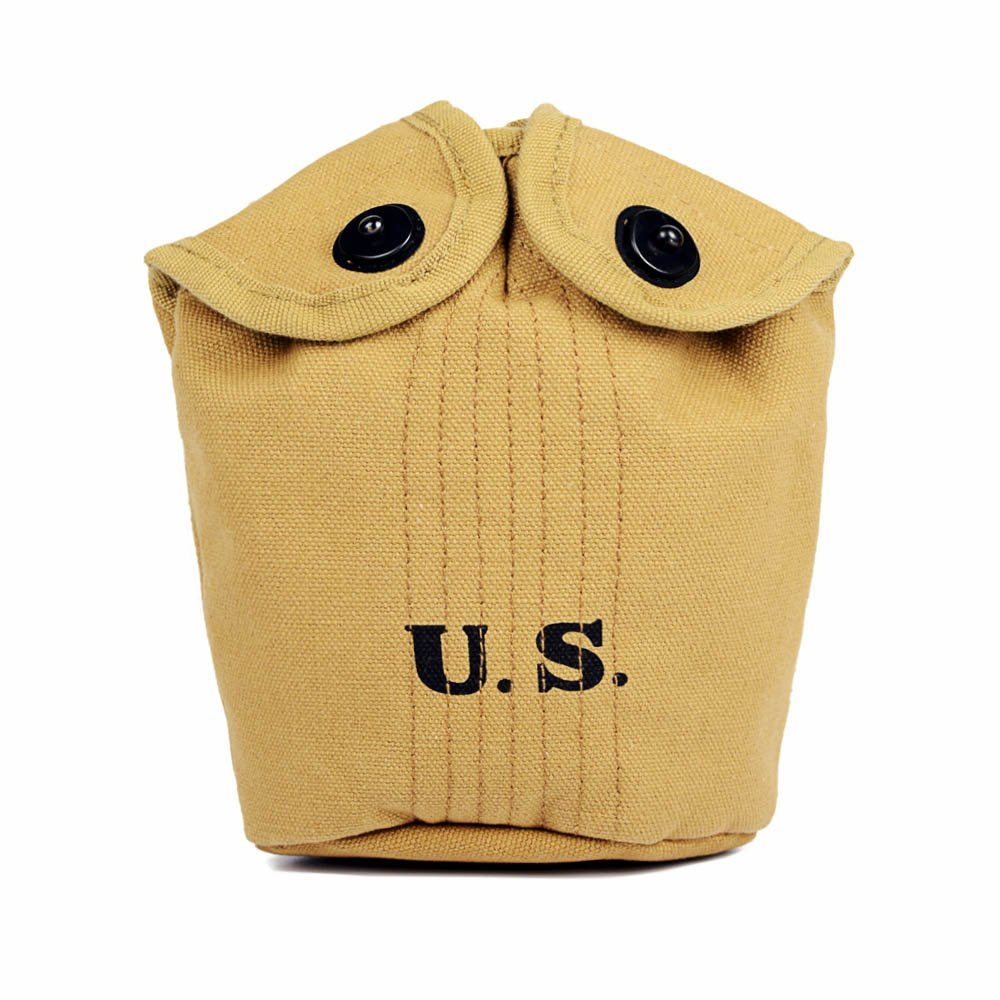 Oleader WW2 U.S. Army Canteen & M1910 Canteen Cover