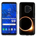 [Mobiflare] Samsung Galaxy S9 TPU Silicone Phone Case for [Clear] Ultraflex Thin Gel Phone Cover | Screen Protector Included | - [Solar Eclipse]
