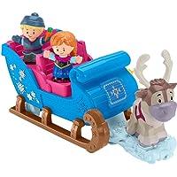 Deals on Fisher-Price Little People Disney Frozen Kristoffs Sleigh Ride
