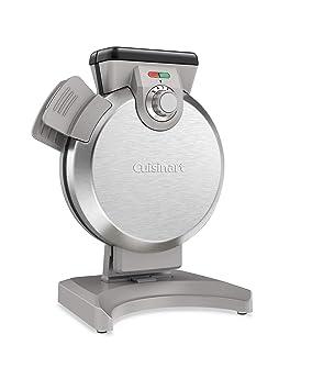 Cuisinart waf-v100 vertical máquina para hacer gofres, color plateado