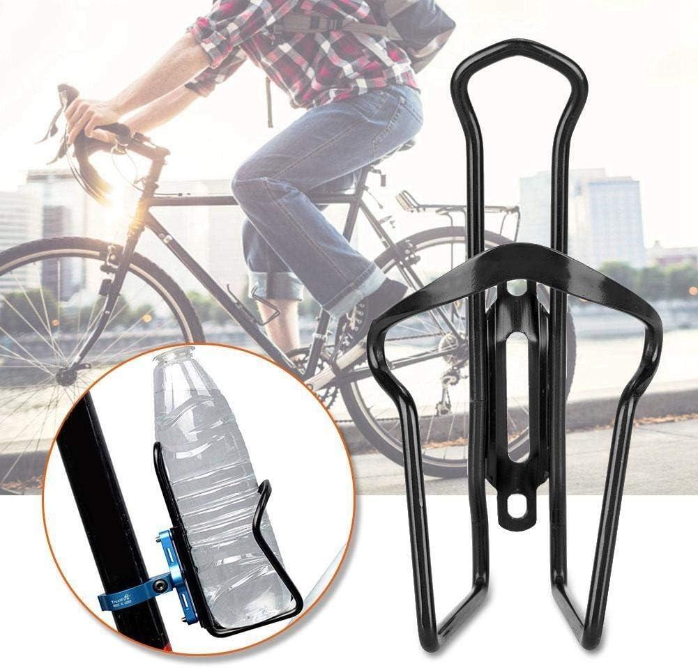 Desconocido Generic - Botella de Agua para Bicicleta (aleación de Aluminio), Color Negro: Amazon.es: Deportes y aire libre