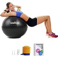 Kalkal Exercise Ball , 65cm Upgraded Anti Slip Yoga Ball with Massage Point Fitness Ball for Birthing,Pilates,Yoga…