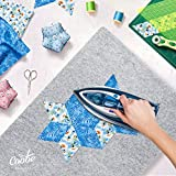 """17"""" X 24"""" Wool Pressing Mat for Quilting - 100% New Zealand Wool Ironing Pad, Large Size, Perfect for All Ironing Station"""