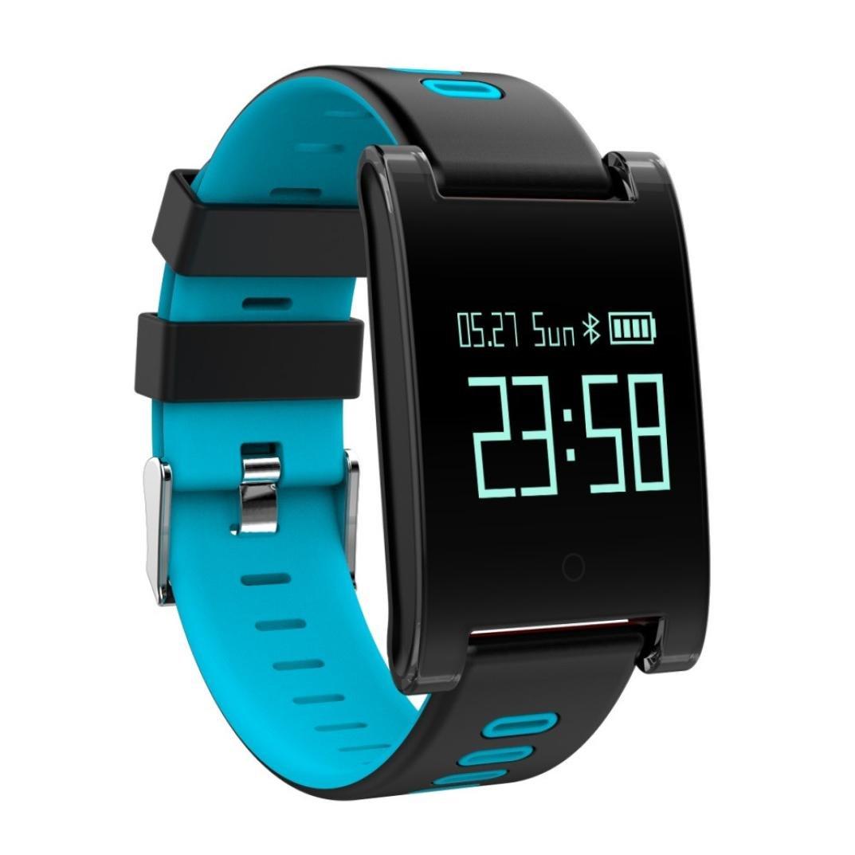 Reloj Inteligente Xinan DM68 Plus Fitness Tracker Presión arterial Monitor de frecuencia cardíaca Llamadas Mensajes Mira para SmartPhone (❤️Azúl): ...