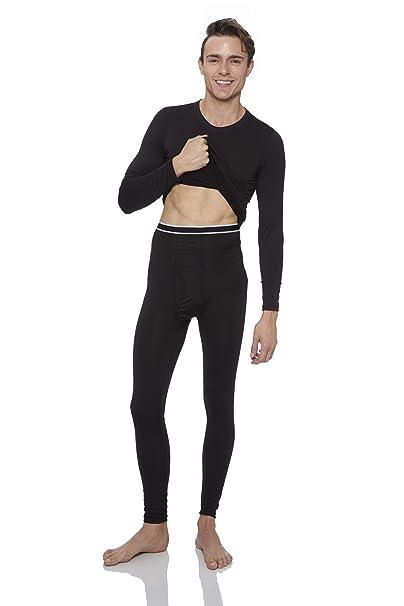 02160fb0078 Rocky Men s Thermal Underwear Set Top   Bottom Ultra Soft Fleece ...